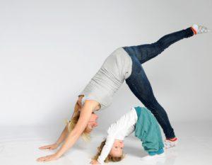 Ouder- kind yoga YouniQidz Zwolle